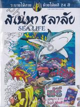 ระบายให้สวยด้วยโค้ดสี 24 สี : เสน่หา ชลาลัย Sea Life
