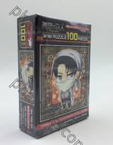 ผ่าพิภพไททัน : Attack on Titan - Mini Puzzle 100 pcs. - No.100-50 - Levi