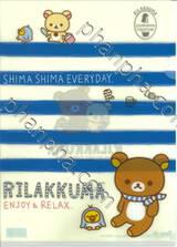 Rilakkuma - Enjoy & Relax (แฟ้มใส่เอกสารขนาด A4)
