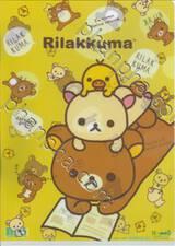 Rilakkuma - daradaragoron. (แฟ้มใส่เอกสารขนาด A4)