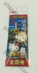 เฮลโล คิตตี Hello Kitty - สายคล้องโทรศัพท์ วัดคินคะคุจิ เกียวโต