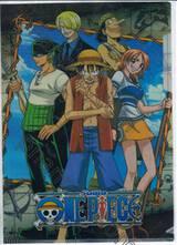 แฟ้มซอง A4 วันพีซ One Piece - Straw Hat Crew