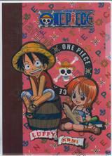 แฟ้มซอง A4 วันพีซ One Piece - Luffy & Nami