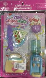 Barbie Enjoy Cooking + ของเล่นชุดอาหารเช้า