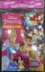 Disney Princess PUZZLE FUN - The Royal Dream Team + กระเป๋าสตางค์และจิ๊กซอว์